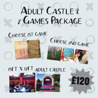 Adult Castle & 2 Games Package