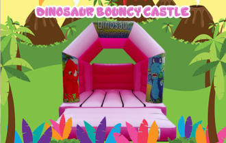 Pink Dino Castle