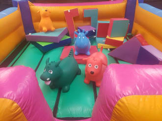 Baby Bouncer & Soft Play - Offer
