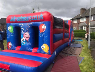 Party Themed Assault Course