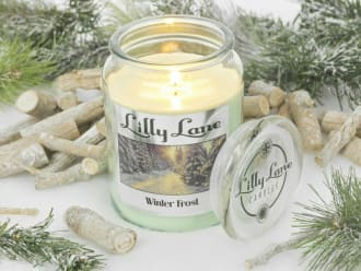 Lilly Lane Winter Frost 18oz Candle