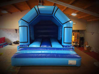 Blue Velcro Castle