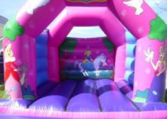 Arched Pink Princess Castle