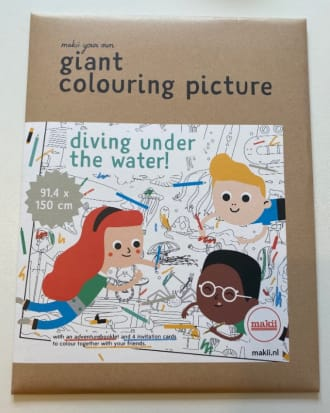Giant Colouring Picture