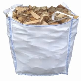 3 Builders Bags Of Seasoned Kiln Dried Harwoood