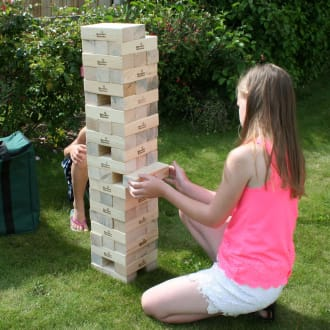 Giant Jenga Party Game Hire
