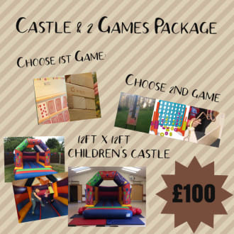 Childrens Castle 2 Games Package