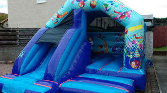 15ft X 12ft Castle-slide Combo