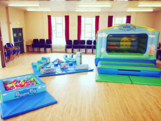 Peppa Pig Package Castle Is 14 Ft X 8ft  - Indoor Hire Only