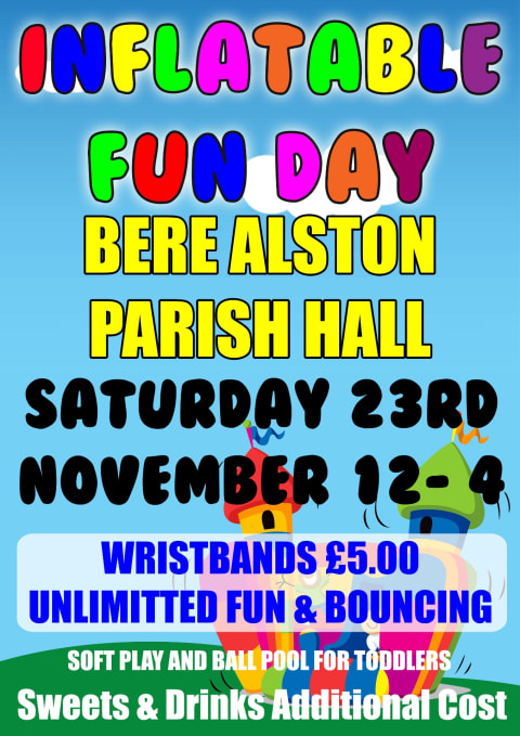 Bere Alston Inflatable Fun Day