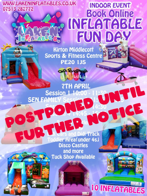 Inflatable Fun Day 7th April
