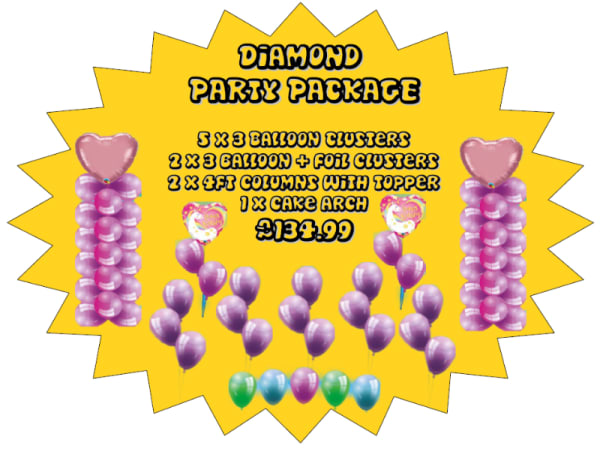 Diamond Party Package