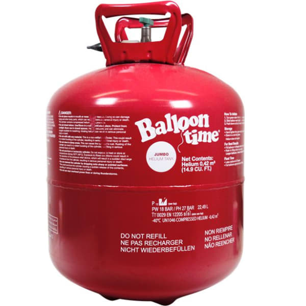 Helium Gas Canister For 50 Balloons