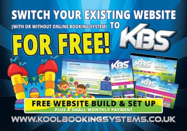 Free Switch Website With Booking System