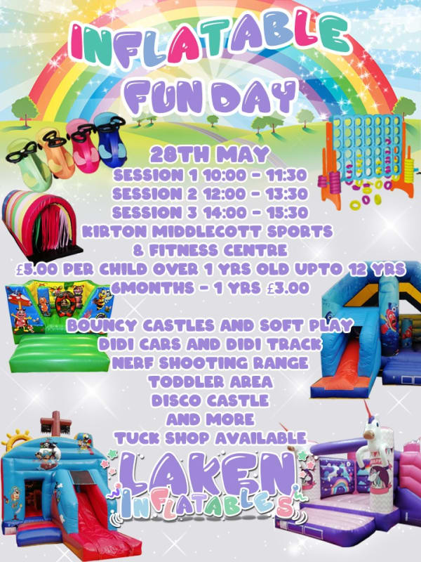 Inflatable Fun Day 28th May