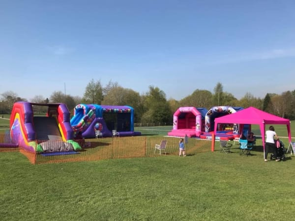 Inflatables In Horsham Park