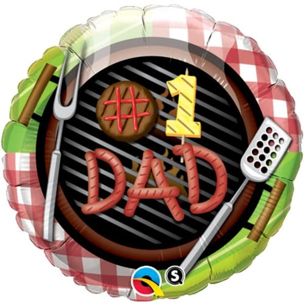 Grill Fathers Day Balloon