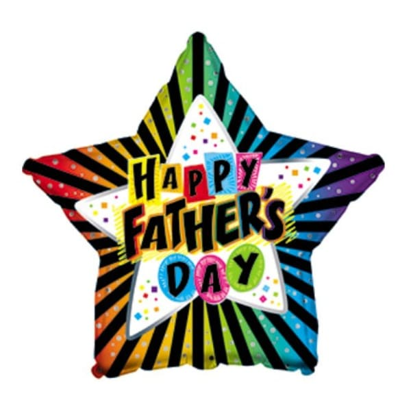 Star Fathers Day Balloon