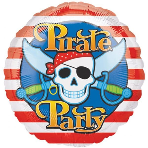 Pirate Balloon - 18inch Foil