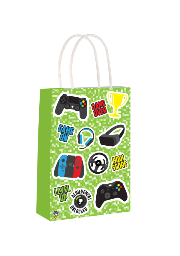 Paper Party Bags - Gamer Design