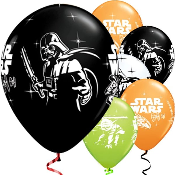 Star Wars Balloons - 12inch Latex (6pk)