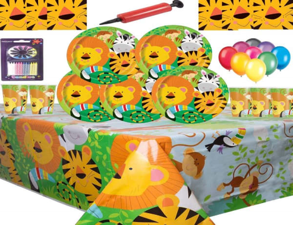 Jungle Animal Party Supplies