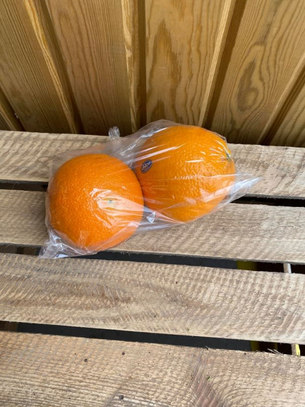 Very Large Navel Oranges