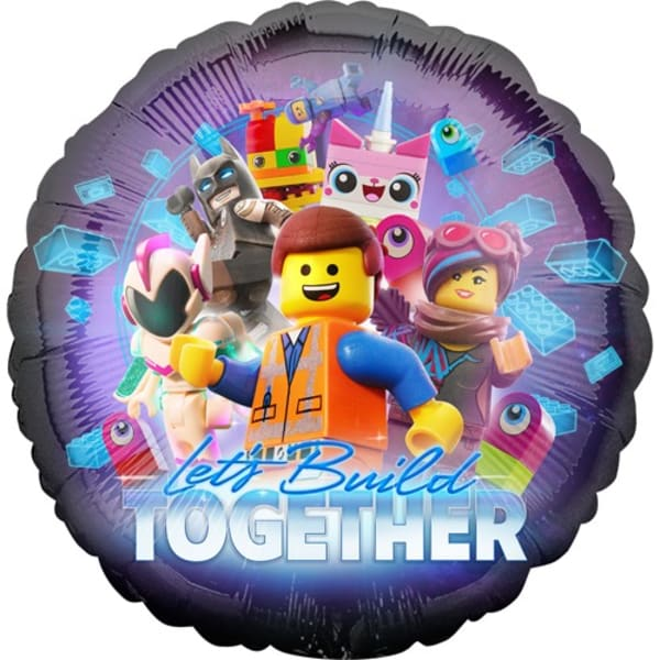 Lego Movie 2 Balloon 18 Inch