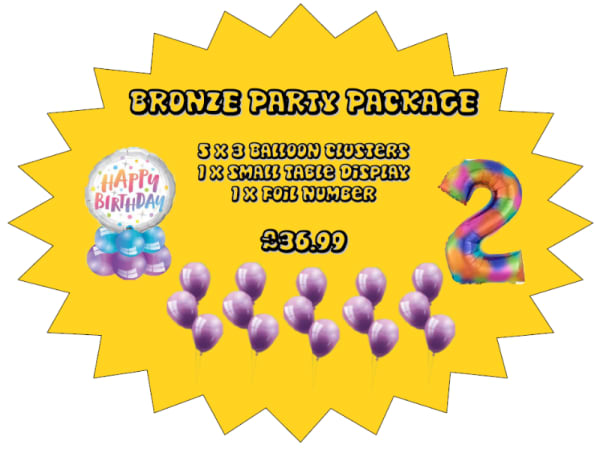 Bronze Party Package