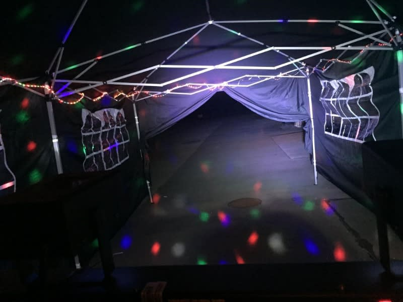 Disco Party Tents Bubble N Bounce Bouncy Castle And Hot Tub Hire South Wales