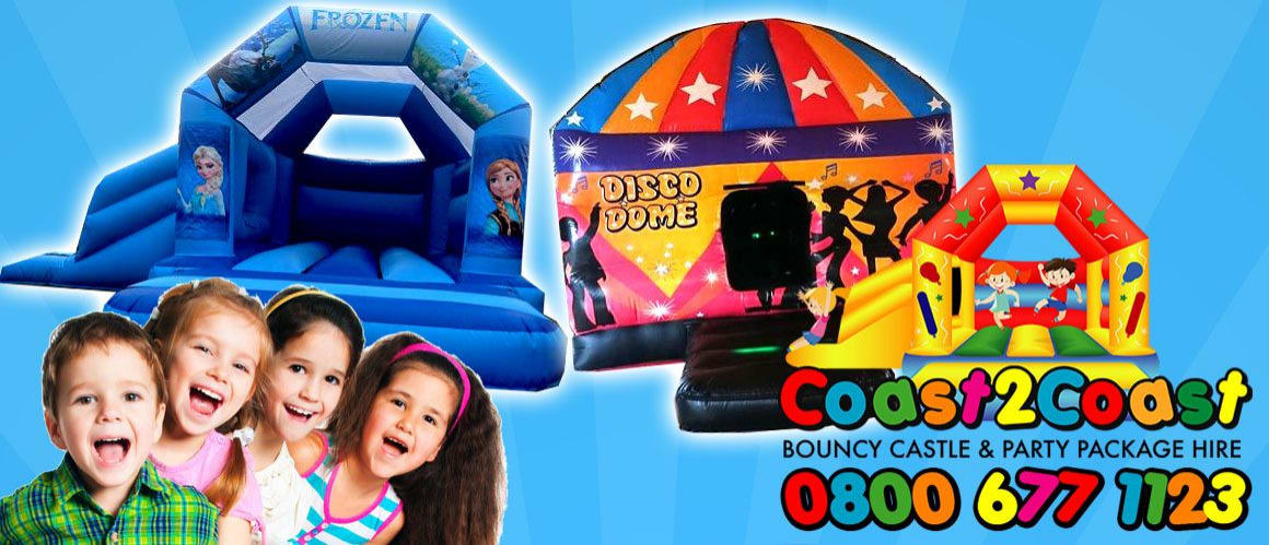 Coast2Coast Bouncy Castle and Party Package Hire