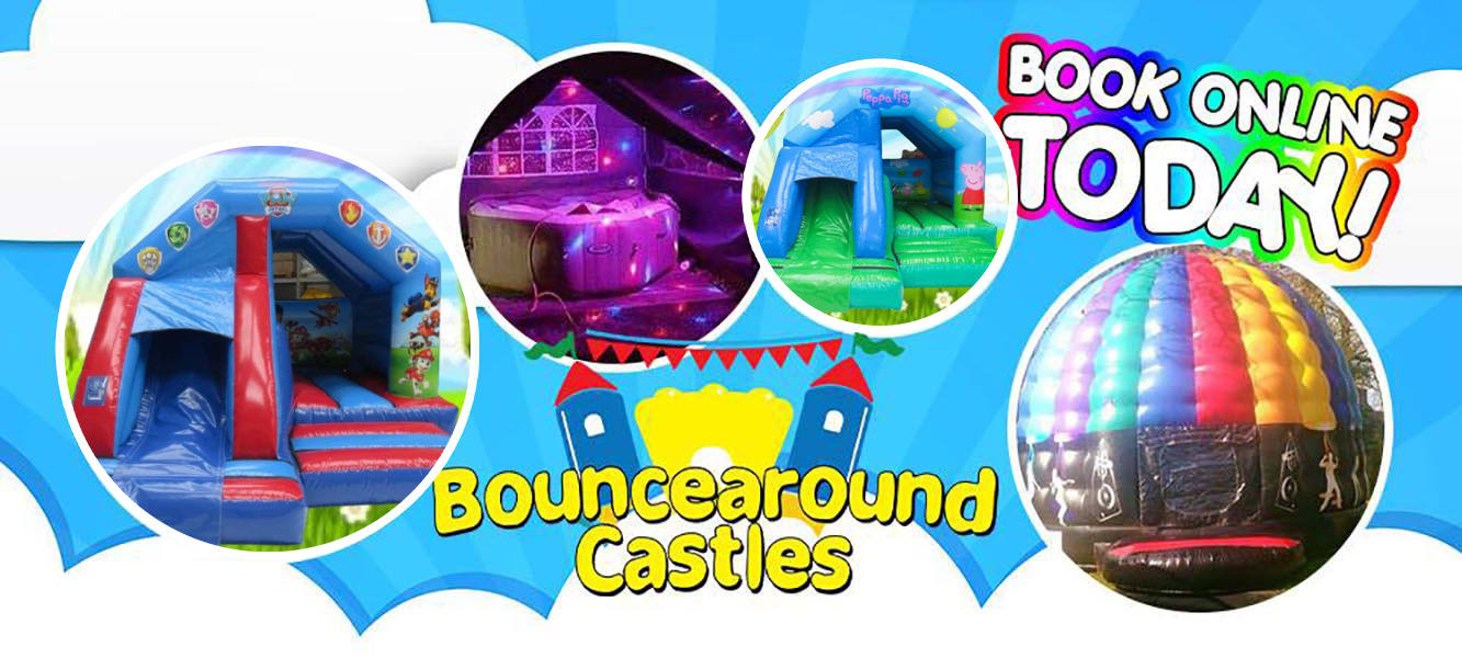 Bouncearound Castles and Hot tubs