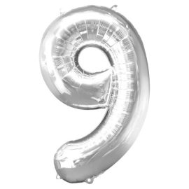 Number 9 Balloon - 34inch Foil