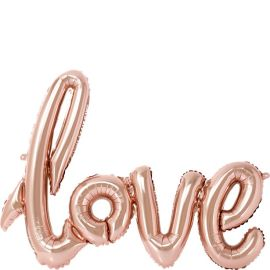 Rose Gold Love Foil Balloon - 30inch