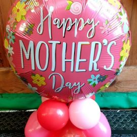 Mothers Day Balloon Mini Display