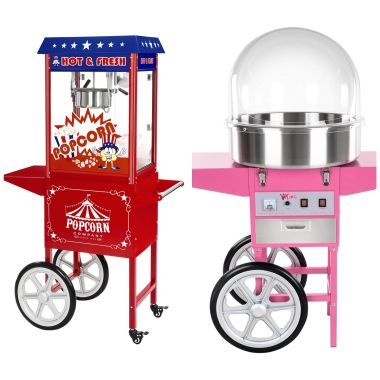 Candy Floss & Popcorn Machine
