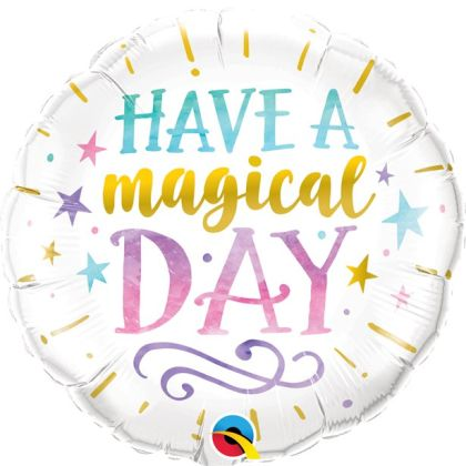 Magical Day Foil Balloon - 18inch Foil