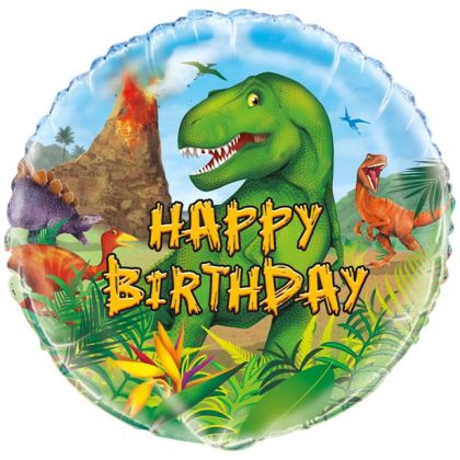 Dinosaurs Adventure Balloon�- 18inch Foil
