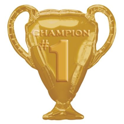 Gold Trophy Foil Balloon - 25inch