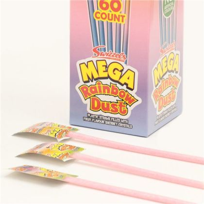 Mega Rainbow Dust Straw