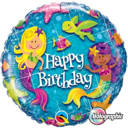 Mermaids Balloon - 18inch Foil