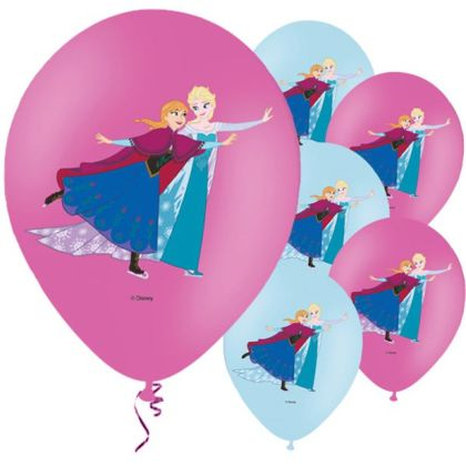 Disney Frozen Balloons - 11inch Latex (6pk)