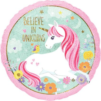 Magical Unicorn Balloon - 18inch Foil