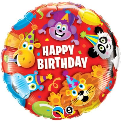 Party Animals Kids Balloon - 18inch Foil