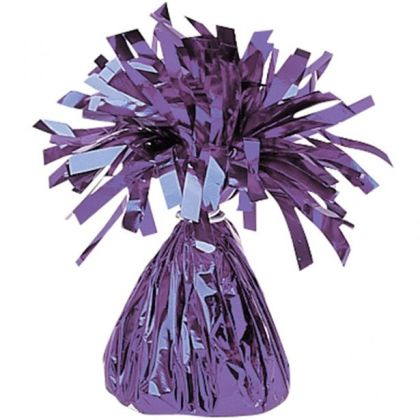 Purple Foil Balloon Weight
