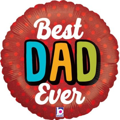 Best Dad Fathers Day Balloon