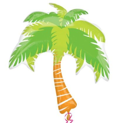 Palm Tree Supershape Balloon - 33inch Foil