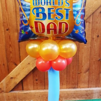 Fathers Day Balloon Column�