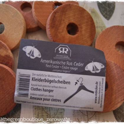 Red Cedar Clothes Hanger Discs