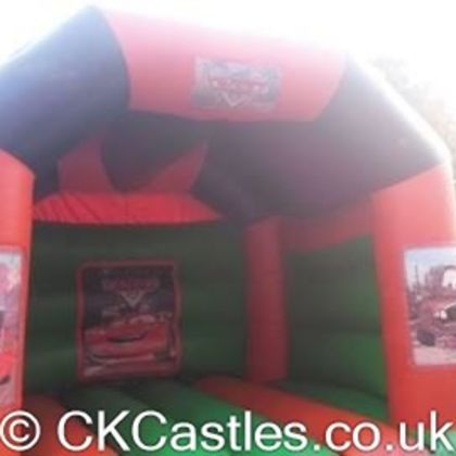 Cars Themed 12x14ft Bouncy Castle